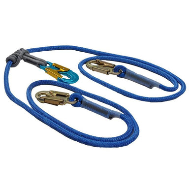 2 in 1 Safety Lanyard Continuous Connection