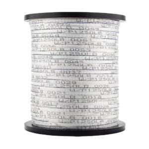 Detectable Woven Polyester Pulling Tape with 22 Gauge Conductor