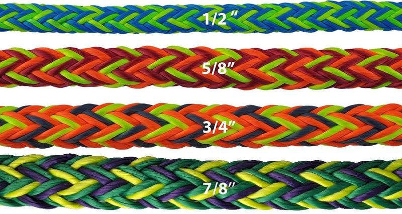 Husky Multi-Pro 12-Strand Double Carrier Hollow Braid