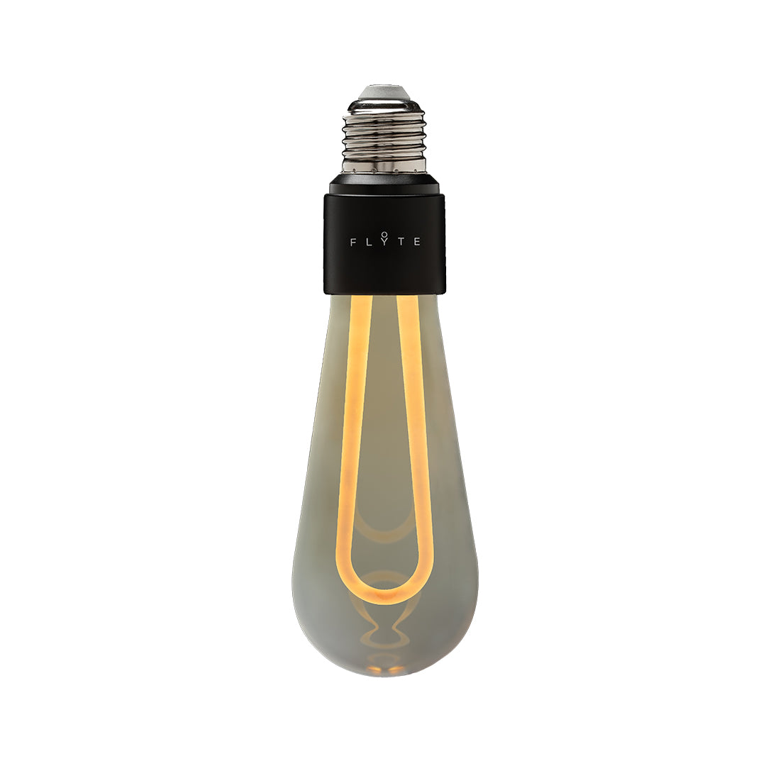 ARC the ultimate minimal, dimmable LED bulb in tanned glass