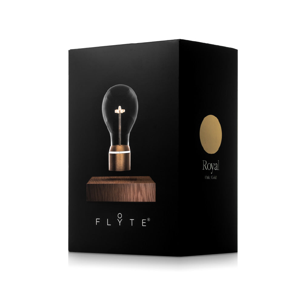 FLYTE levitating light bulb - Royal packaging box