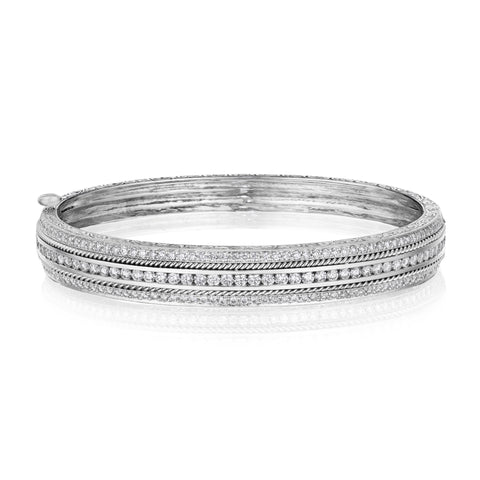 Channel Set Bangle