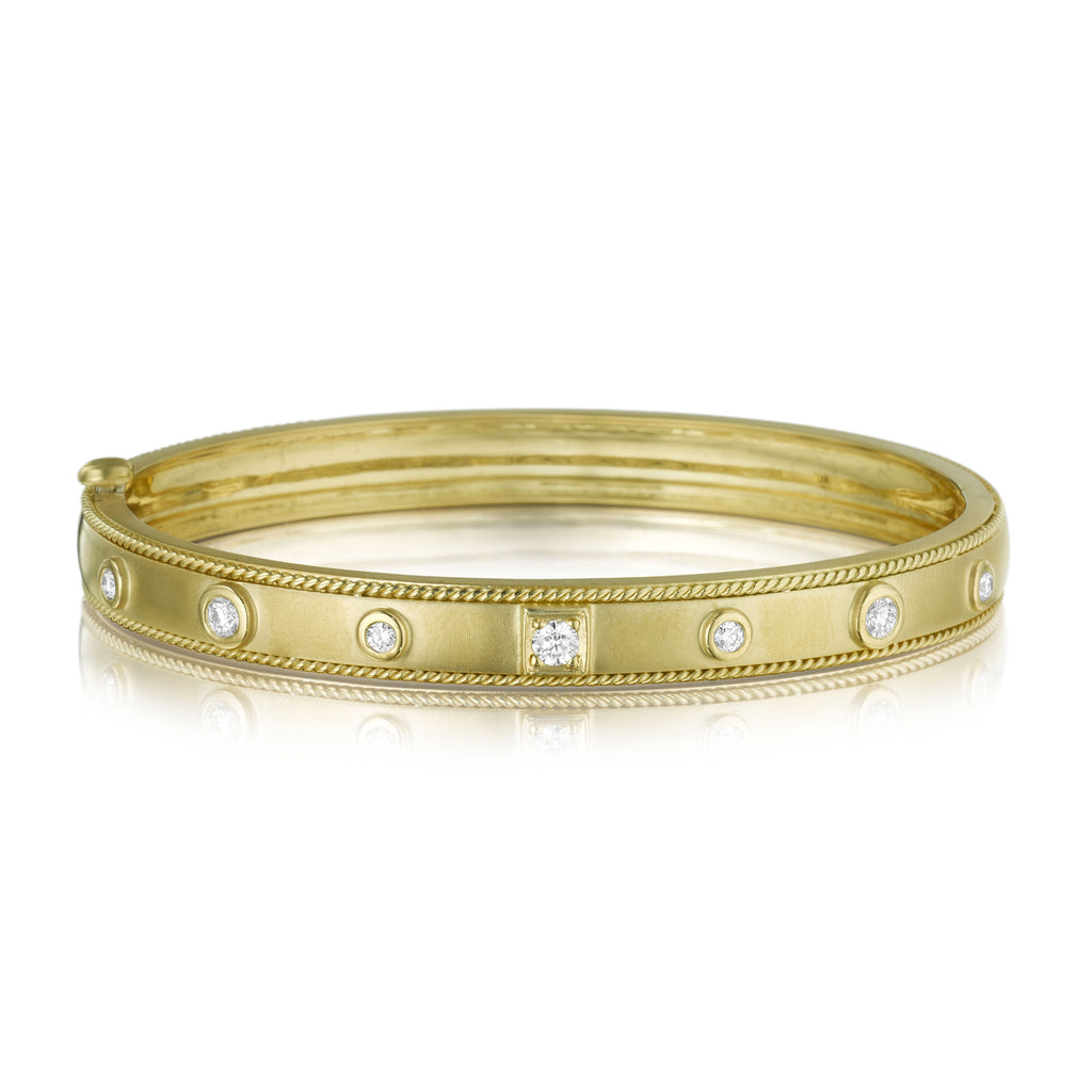 Round & Square Stacking Bangle