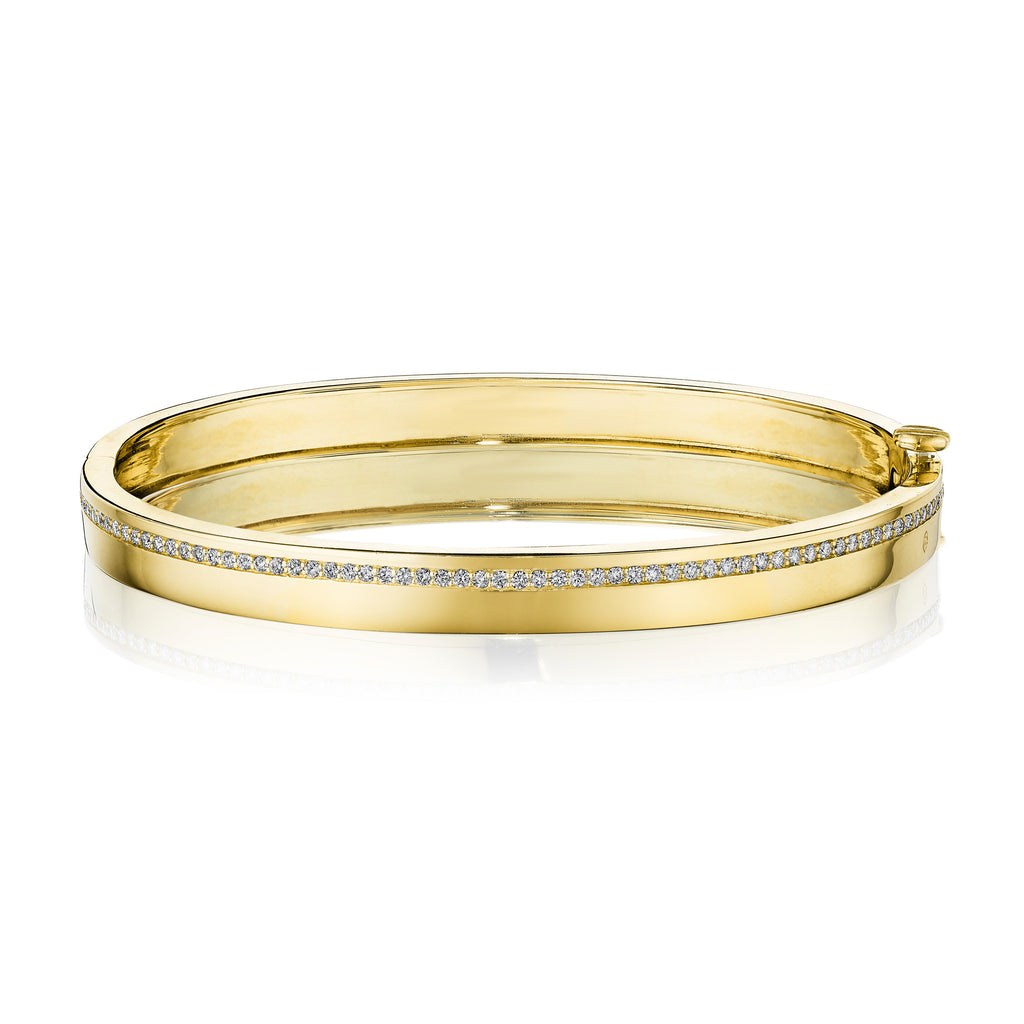 Moderne Deco Wide Bangle
