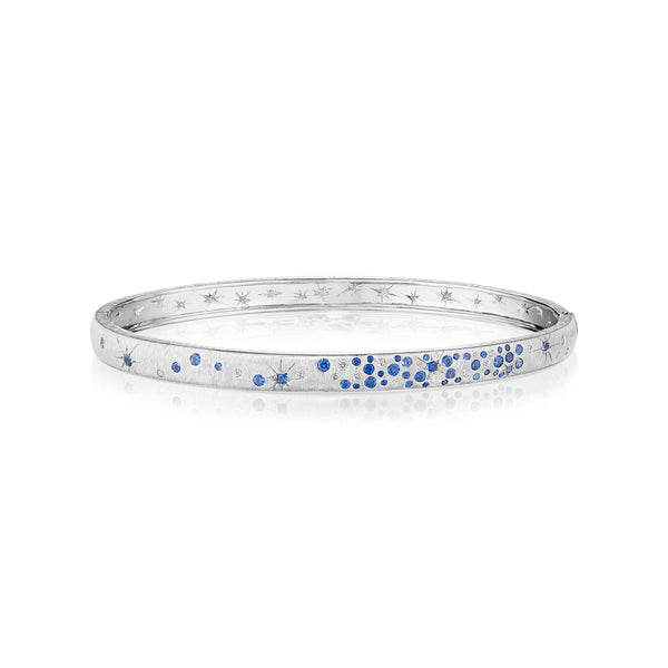 Blue Sapphire Galaxy Bangle
