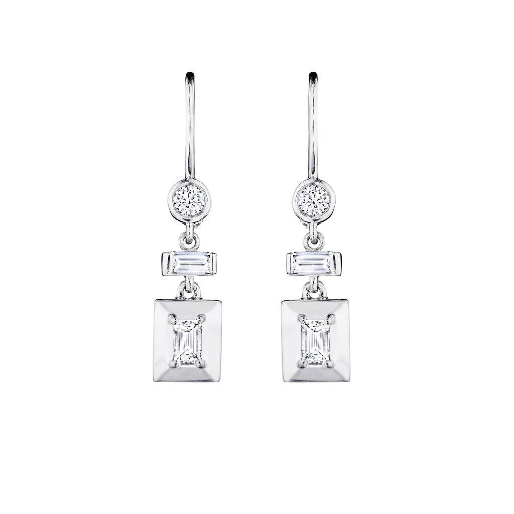 ben earrings jewelry diamond round bridge jeweler baguette