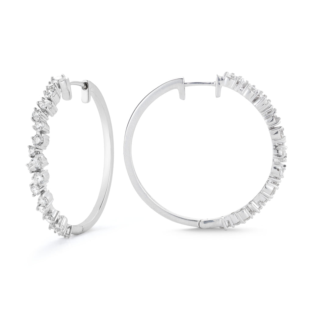 Stardust Hoop Earrings