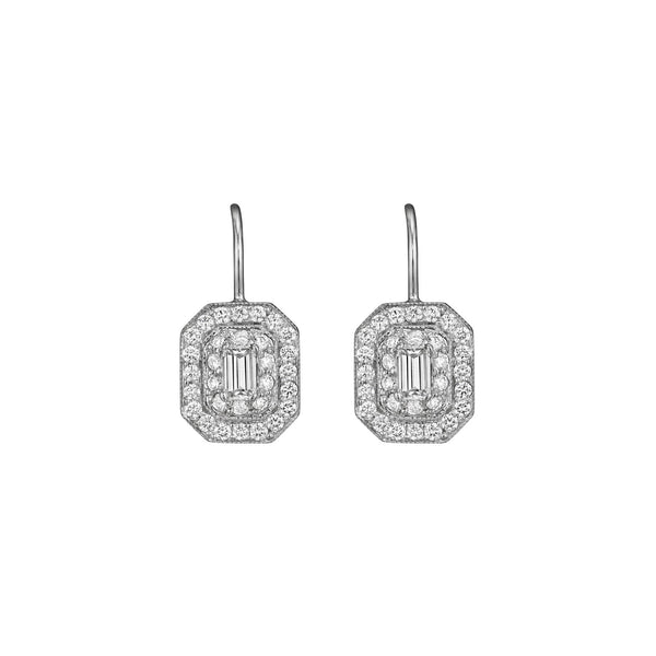 Petite Art Deco Earrings