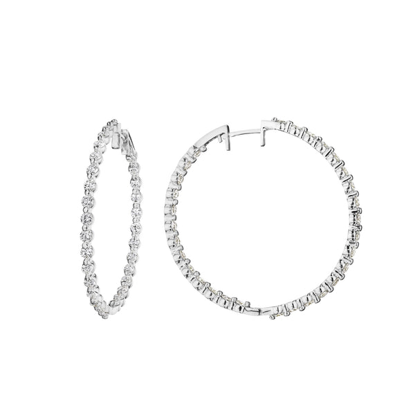 Inside-Out Hoop Earrings