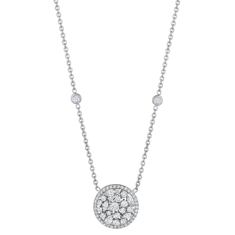 Round Star Dust Necklace