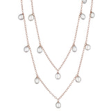 "34"" Dangling Pearl Necklace"