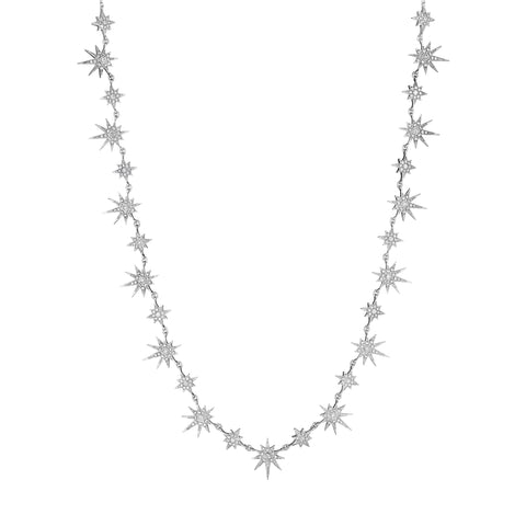 Petite Starburst Collar Necklace