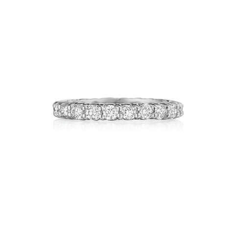 Prong-Set Eternity Band