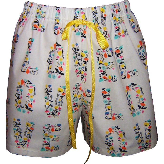 Love Blooms Boxer
