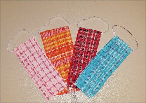 Perfect Plaids Face Masks