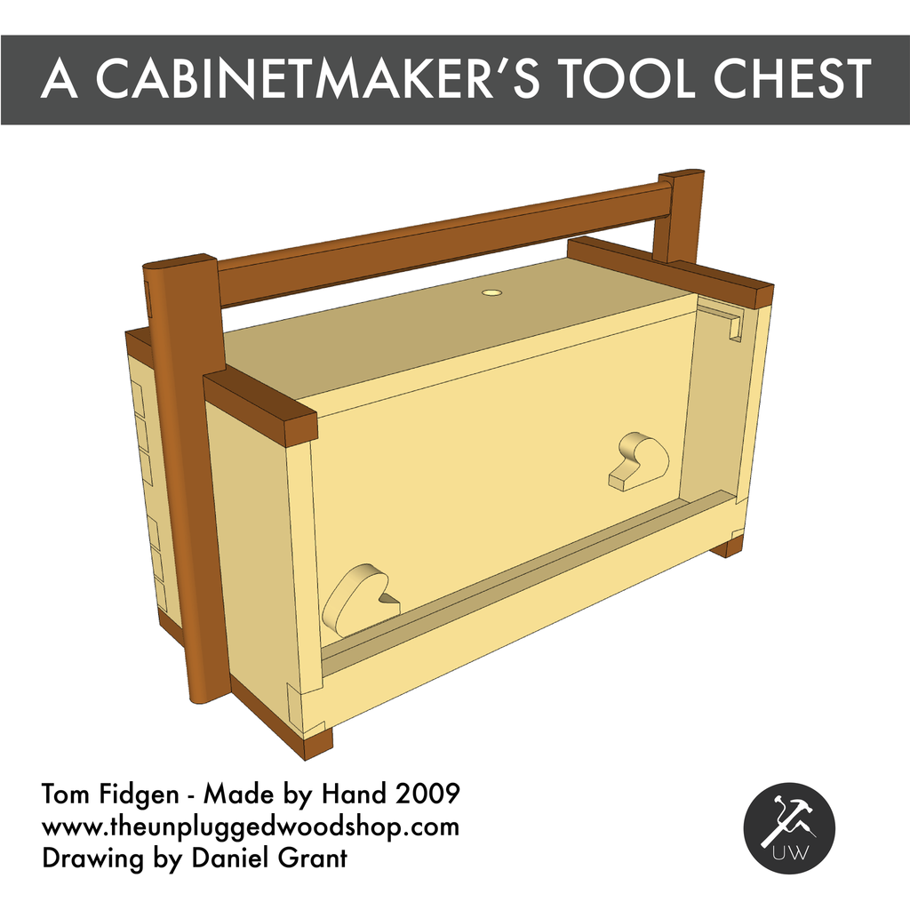 A Cabinetmaker's Tool Chest - Sketchup