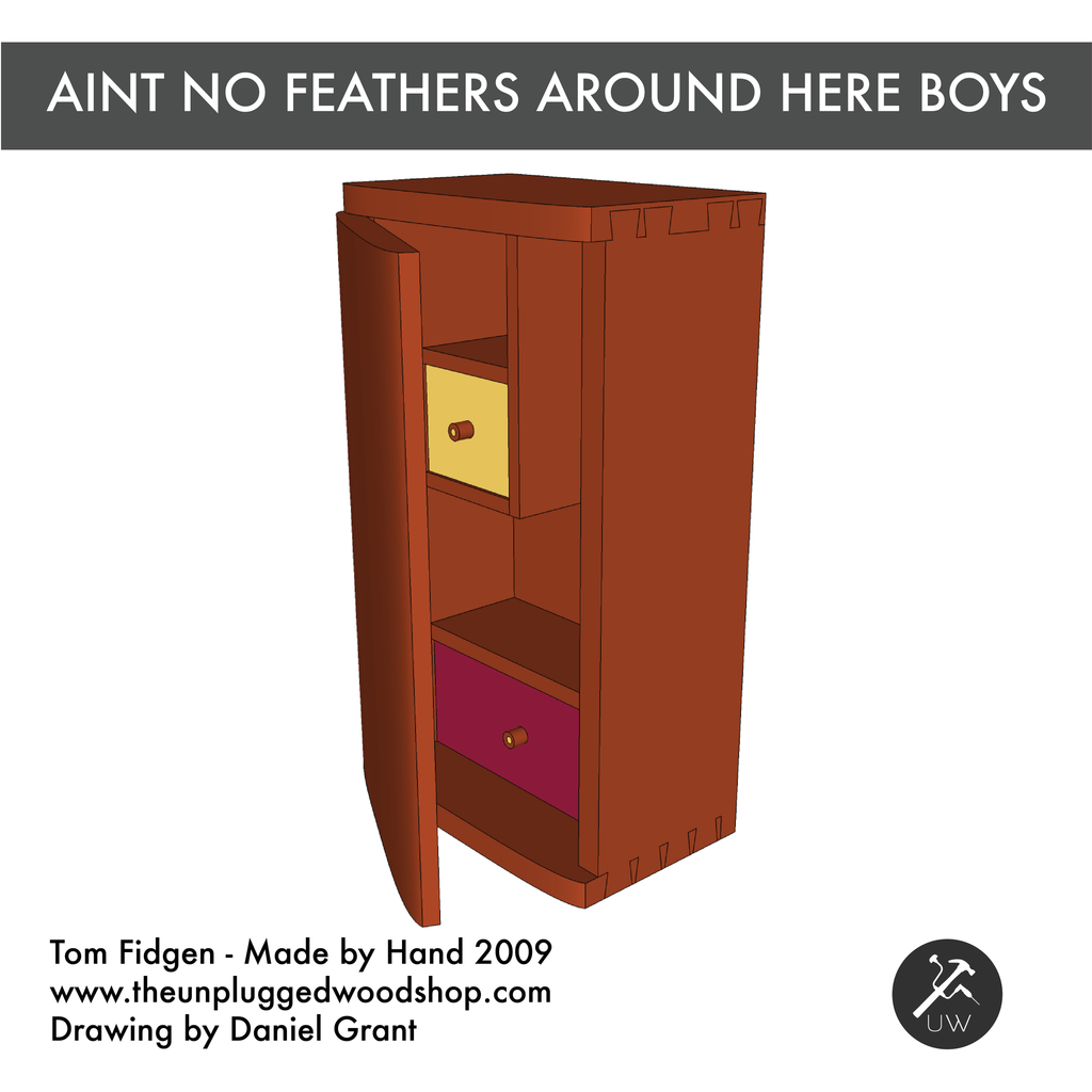 Aint No Feathers Around Here Boys - Sketchup