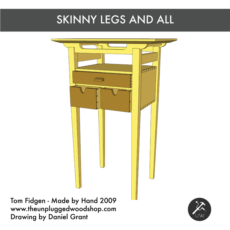 Skinny Legs and All - Sketchup