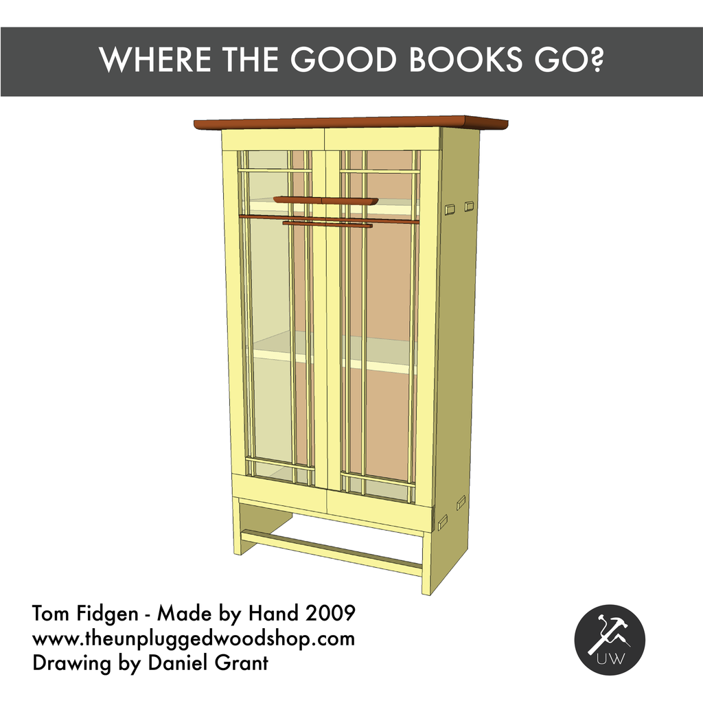 Where the Good Books Go? - Sketchup