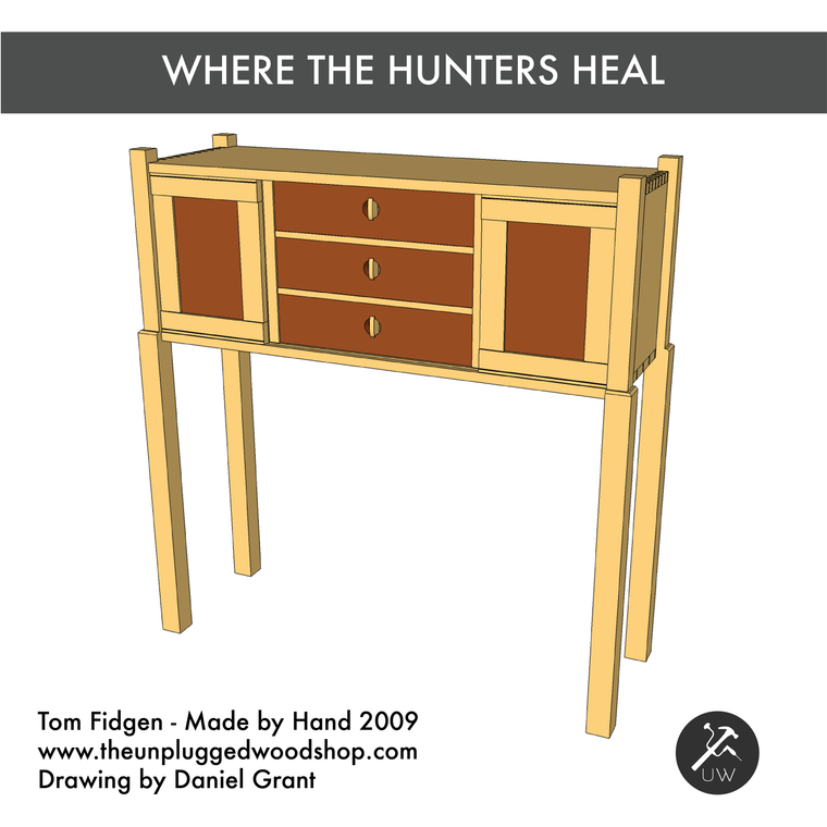 Where the Hunters Heal - Sketchup