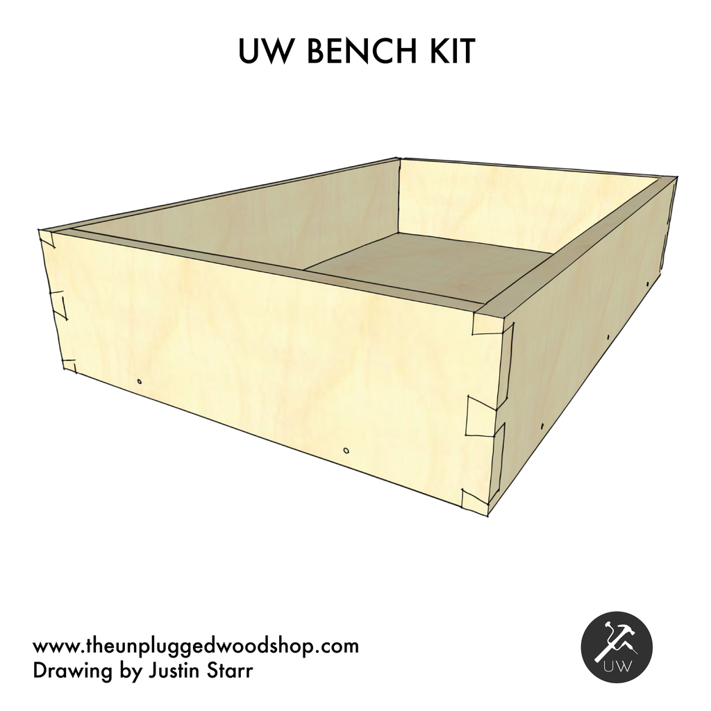 UW Bench Kit - Sketchup