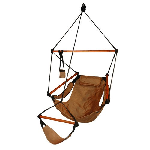 Hammaka Hammocks Original Hanging Air Chair In Natural Tan - Swings N' Hammocks - 1