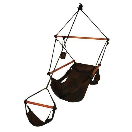 Hammaka Hammocks Original Hanging Air Chair In Jet Black - Swings N' Hammocks - 1