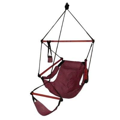 Hammaka Hammocks Original Hanging Air Chair In Burgundy - Swings N' Hammocks - 1