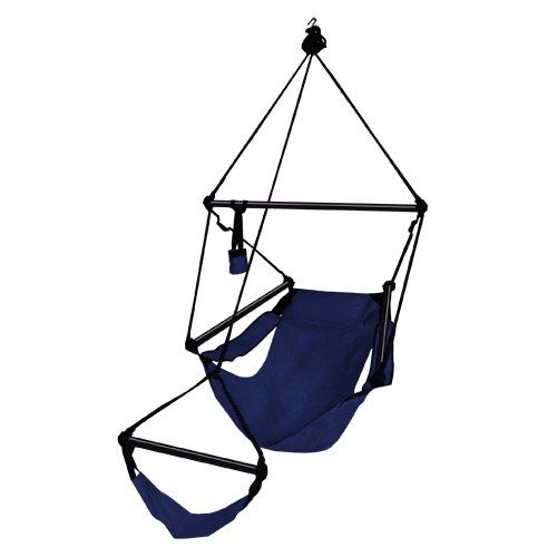 Hammaka Hammocks Original Hanging Air Chair In Midnight Blue - Swings N' Hammocks - 1
