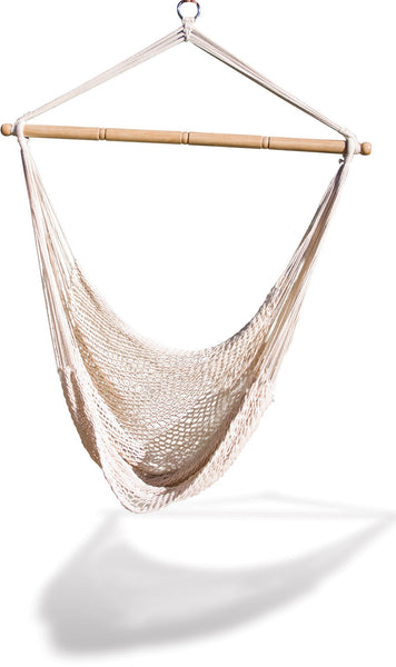 Hammaka Hammocks White Hanging Net Chair - Swings N' Hammocks
