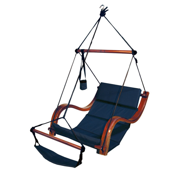 Hammaka Hammocks Nami Hanging Lounge Chair In Midnight Blue - Swings N' Hammocks - 1