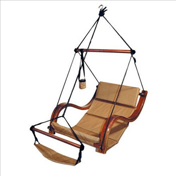 Hammaka Hammocks Nami Hanging Lounge Chair In Natural Tan - Swings N' Hammocks - 1