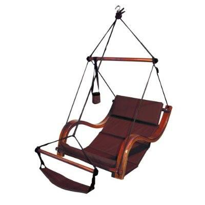 Hammaka Hammocks Nami Hanging Lounge Chair In Burgundy - Swings N' Hammocks - 1