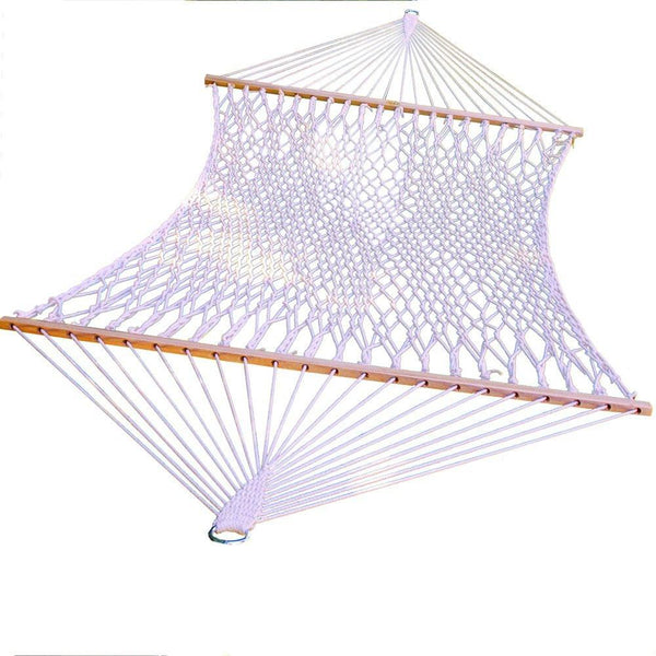 Cotton Rope Hammock and Stand Combination - Swings N' Hammocks - 1