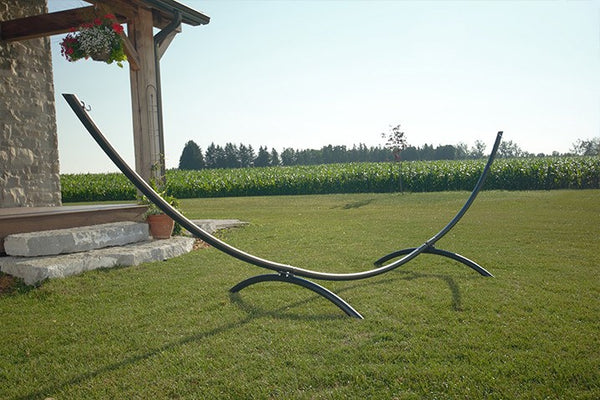 15ft Arc Hammock Stand - Steel (Oil Rubbed Bronze) - Swings N' Hammocks - 1