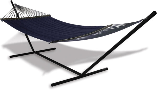 Hammaka Universal Stand and Quilted Olefin Hammock Combo - Swings N' Hammocks