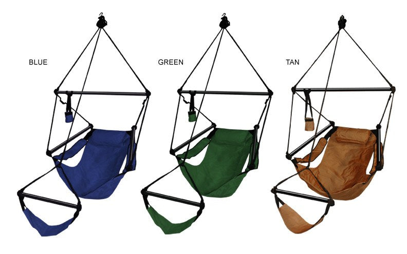 Hammaka Hammocks Original Hanging Air Chair In Hunter Green - Swings Nu0027 Hammocks - 2 ...  sc 1 st  Swings Nu0027 Hammocks & Kings Pond Hammaka Hammocks Original Hanging Air Chair In Hunter ...