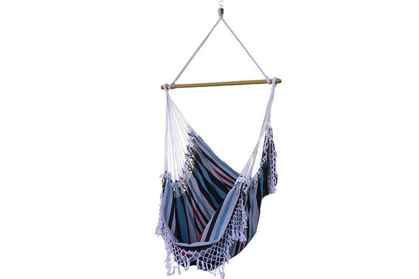 Brazilian Hammock Chair (Denim) - Swings N' Hammocks - 1