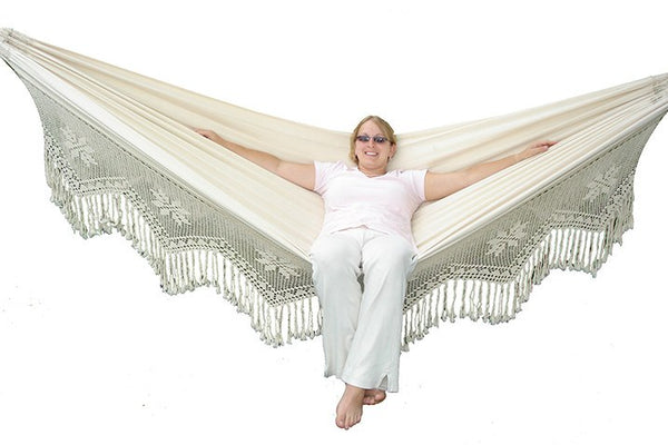 Brazilian Double Deluxe Hammock - Swings N' Hammocks - 1