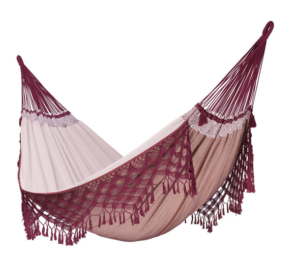 BOSSANOVA Organic Family Hammock bordeaux - Swings N' Hammocks - 1