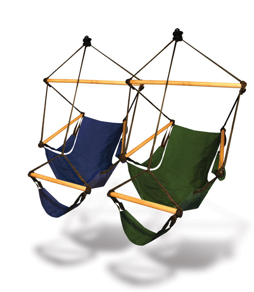 Hammaka Hammocks Cradle Hanging  Air Chair In Midnight Blue - Swings N' Hammocks - 2