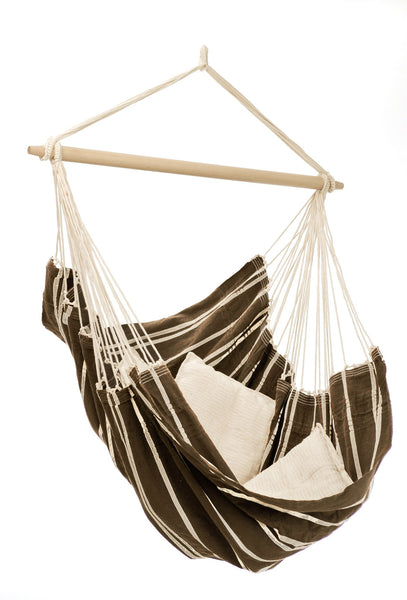 Brazil Swinging Chair Mocha - Swings N' Hammocks - 1