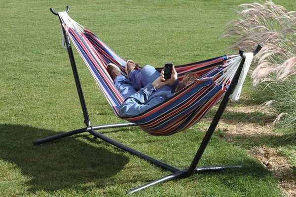 Vivere's Combo - Techno Hammock with Stand (9ft) - Swings N' Hammocks - 2