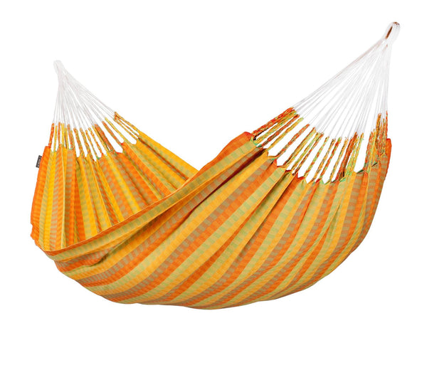 AVENTURA Weatherproof Double Hammock citrus - Swings N' Hammocks - 1