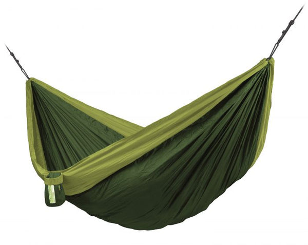 Colibri 3.0 Forest - Double Travel Hammock with Suspension