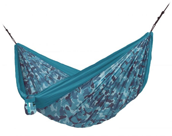 Colibri 3.0 Camo River - Double Travel Hammock with Suspension