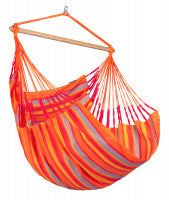 LA SIESTA® Domingo Toucan - Weather-Resistant Comfort Hammock Chair