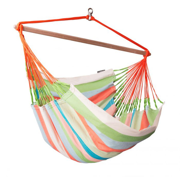 Domingo Coral - Weather-Resistant Lounger Hammock Chair