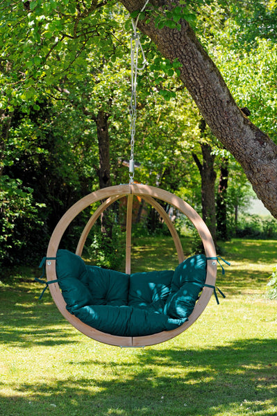 Globo Chair, Green, NEW! Outdoor Fabric - Swings N' Hammocks - 4