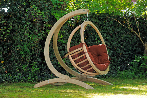 Globo Chair, Terra Cotta, NEW! Outdoor Fabric - Swings N' Hammocks - 2
